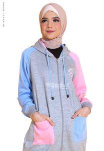 Jaket Hijab muslimah Panjang HIJABER GROOVY HIJACKET