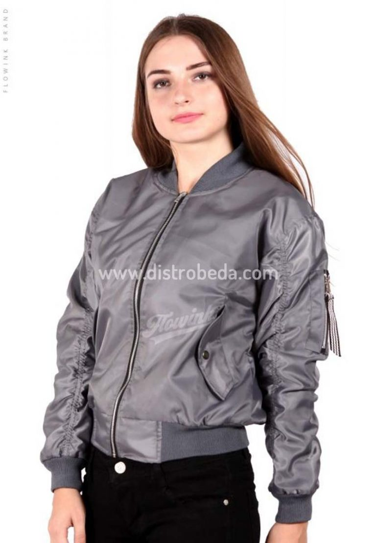 jaket bomber wanita murah polos