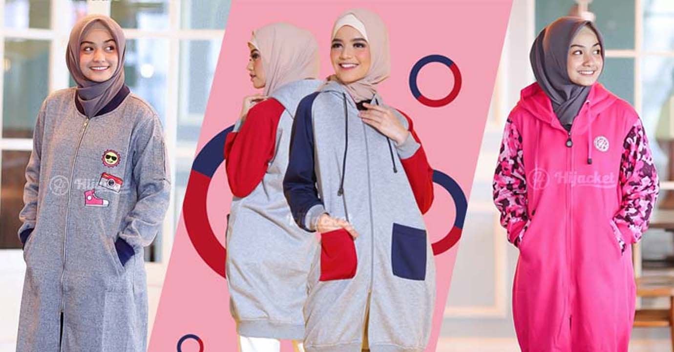 jaket hijab wanita jaket wanita muslimah