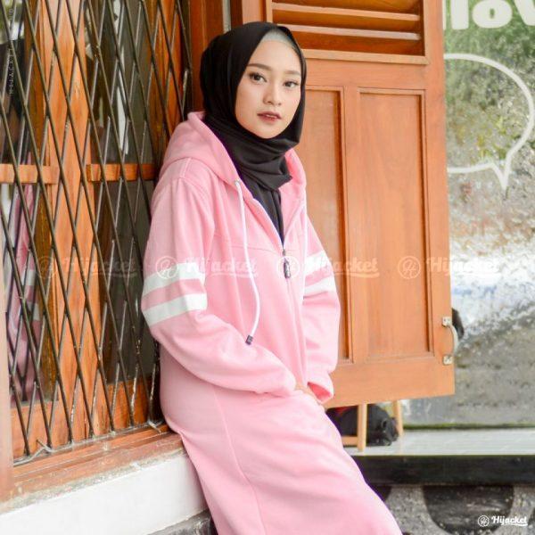 Jaket Muslimah Hijacket Beautix Orchid