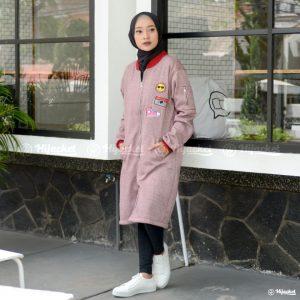 Jaket Muslimah Twistone Volcano