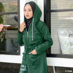 Jaket Muslimah Hijacket Urbanashion Alpine