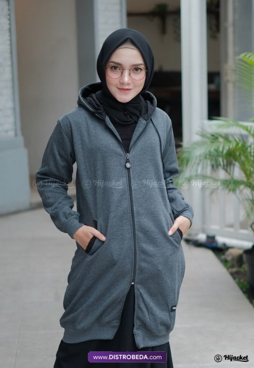 Hijacket Basic Misty Black