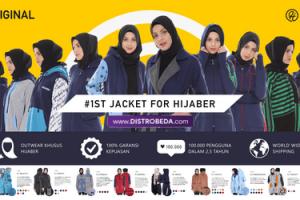 Jaket Hijaber Muslimah Hijacket