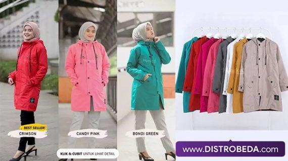 Tampil Fashionable dengan Jaket Hijaber