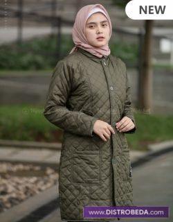 Hijacket Distrobeda Jaket Muslimah Hijaber original