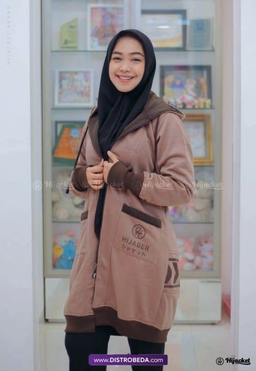 Hijacket Yukata Brown Ria Ricis