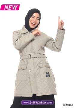 Hijacket Agnesia Cream Distrobeda Original