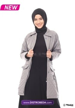 Hijacket Agnesia Grey Distrobeda Original