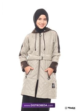 Hijacket Queenbee Cream Distrobeda Original