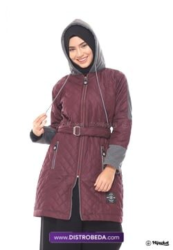 Hijacket Queenbee Maroon Distrobeda Original