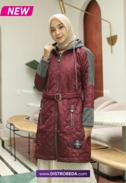Hijacket Queenbee Maroon