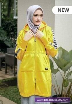 Hijacket Naura Distrobeda Jaket Muslimah Hijaber original