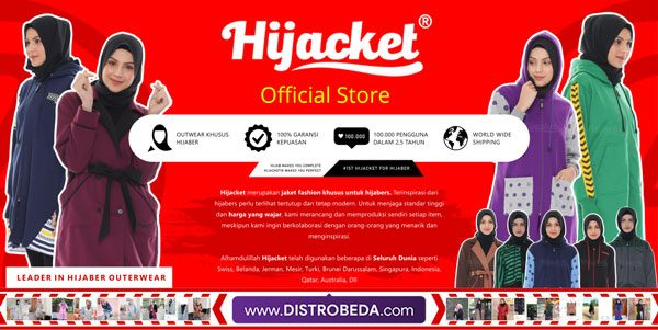 hijacket store distrobeda